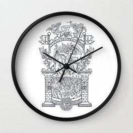 Satanic Rock Wall Clock