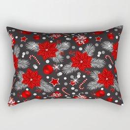 Christmas decoration pattern design Rectangular Pillow