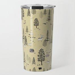 Forrest Pattern Travel Mug