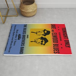Mission From God Blues Brothers Rug