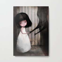 Making New Friends is Easy Metal Print