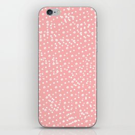 Dotted - Coral iPhone Skin
