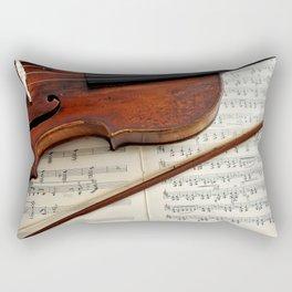 Old violin Rectangular Pillow
