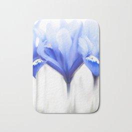Blue Iris 1 Bath Mat