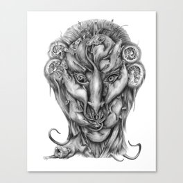 All Hail the Rat King Canvas Print