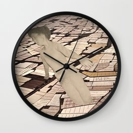 free-fall  Wall Clock