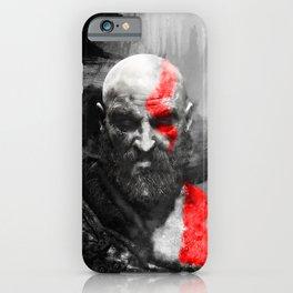 150 Kratos Paint iPhone Case