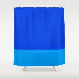 Re-Created Playing Field XLIX by Robert S. Lee Shower Curtain