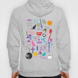 Buffy Symbology, Multi-color / Rainbow / PRIDE! Hoody