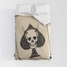 Ace Of Spades - Death Card Comforters