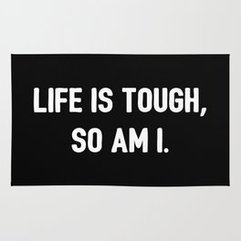 The Tough Life II Rug
