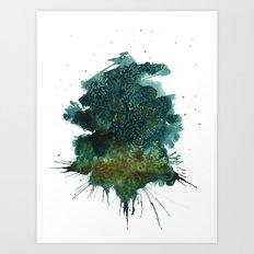 Weather Report Art Print