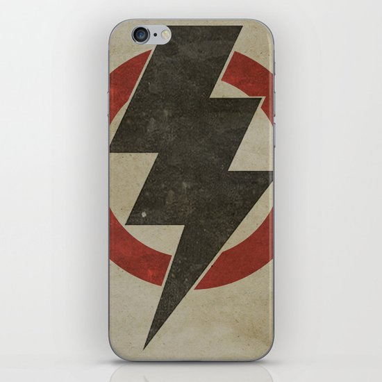 lightning strike zone iPhone & iPod Skin