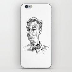 Bill Nye Portrait iPhone & iPod Skin