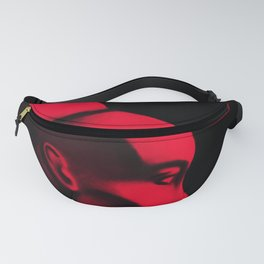 Red Cameo Fanny Pack