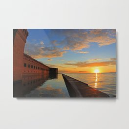 Fort Jefferson, Dry Tortugas Metal Print