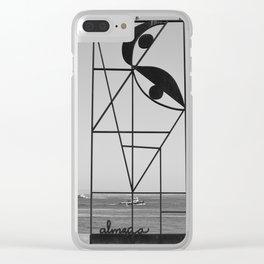 Almada Clear iPhone Case