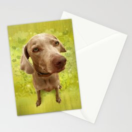 PARKER POSEY (kiwi) puffy cloud series Stationery Cards