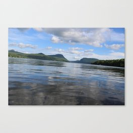Willoughby Wavy Ride Canvas Print