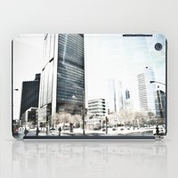 montreal iPad Cases featuring Montreal Winter by Claudia Lalonde