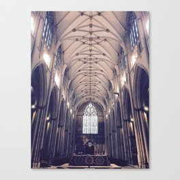 Vaulted Cathedral Ceiling Canvas Print