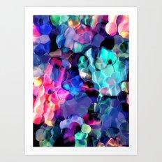 Uva A Art Print