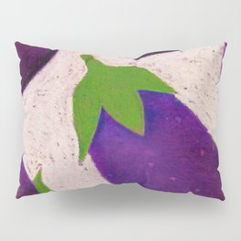 Eggplant Fun Pillow Sham