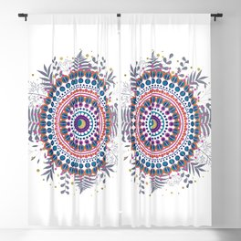 Boho Mandala Blackout Curtain