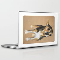 chihuahua Laptop & iPad Skins featuring Chihuahua by PaperTigress