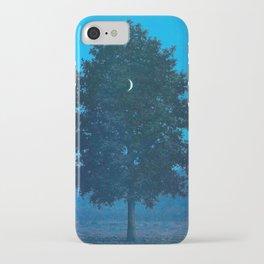 Rene Magritte - Le Seize Septembre - 1956 Moon Through Tree Surrealism iPhone Case