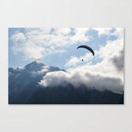 Jungfrau Glider Canvas Print