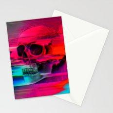Mortality Glitch Stationery Cards
