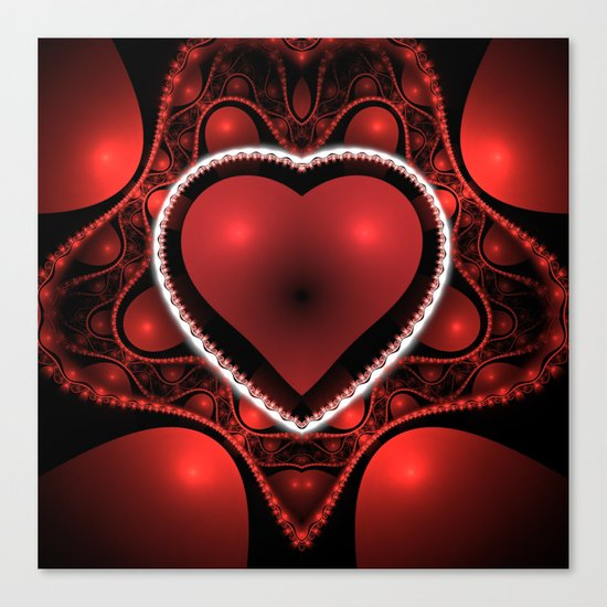 Valentine's Day is Coming! Canvas Print