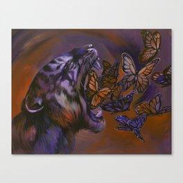 Gentle Roar Canvas Print