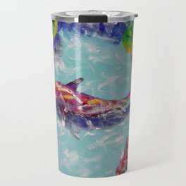 Coy Pond Travel Mug