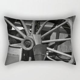 Cowboy wagon wheel Rectangular Pillow