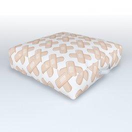 Get Well Bandaid Outdoor Floor Cushion