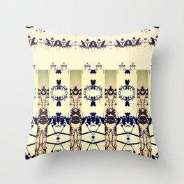southern dogwood Throw Pillow