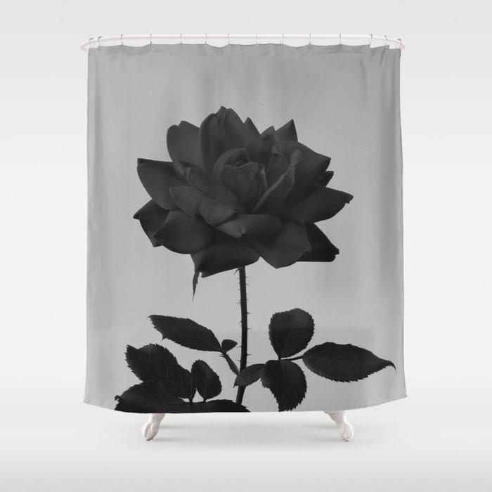 Vibrant Darkness Shower Curtain