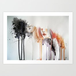 infect me,cure me. Art Print