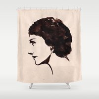 coco Shower Curtains featuring COCO by steam