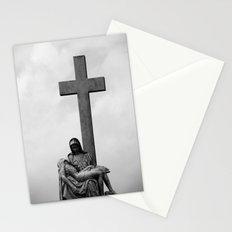Virginal sky Stationery Cards