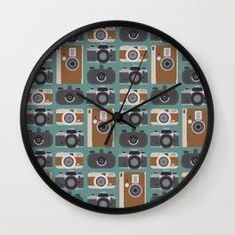 Analogue cameras Wall Clock