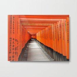 Fushimi Inari Shrine - Ellie Wen Metal Print