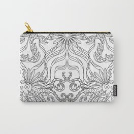 Octopus Mandala - Color Your Own  Carry-All Pouch