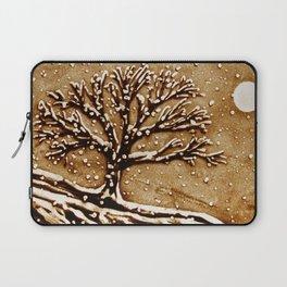 Tree in the Moonlight Laptop Sleeve