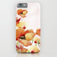 Beautiful Poppies #society6 iPhone 6s Slim Case