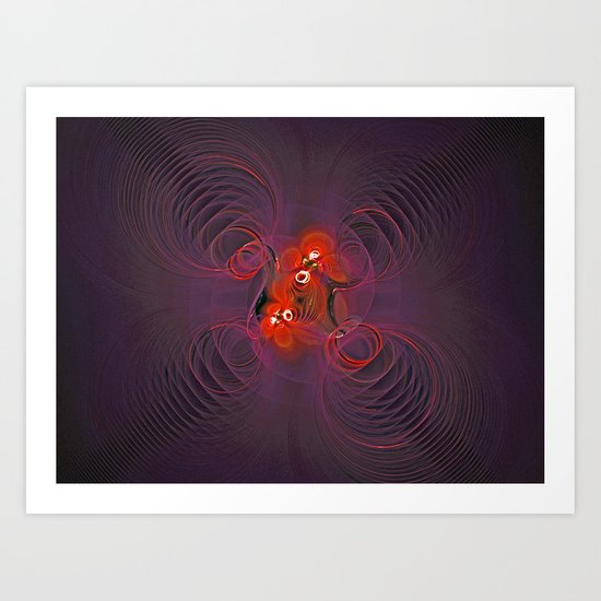 Circle of Circles Art Print