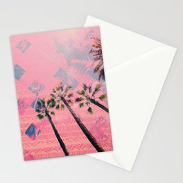 NL 4 2 Palm Trees Stationery Cards