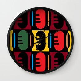 Nouvelle Afrique Wall Clock